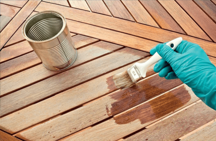 External finishing works: necessary materials